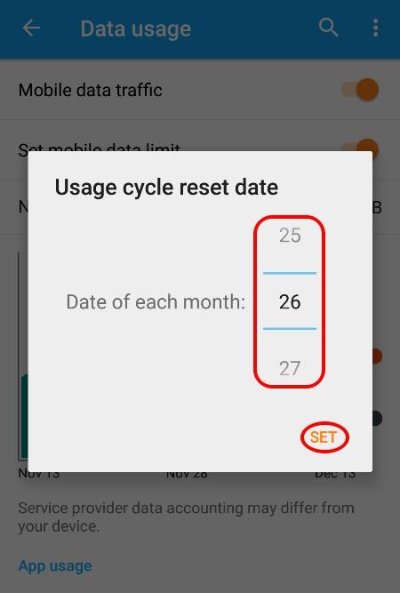 Cara Membatasi Penggunaan Data Internet Di Android 8