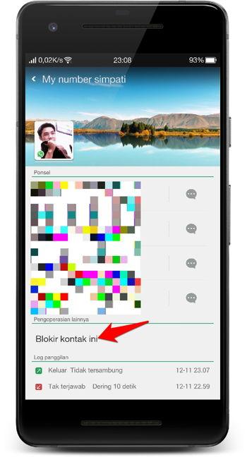 Cara Memblokir Panggilan Dan Pesan Teks (sms) Di Android 13