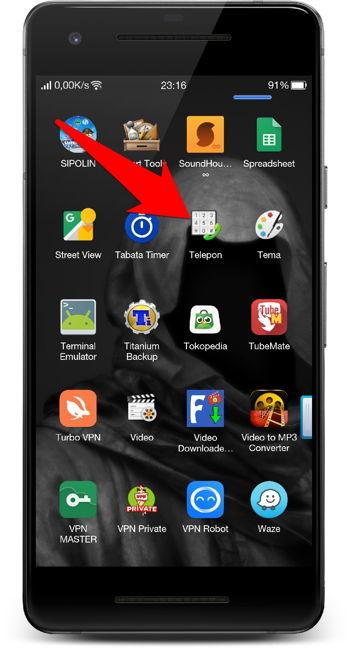 Cara Memblokir Panggilan Dan Pesan Teks (sms) Di Android 2
