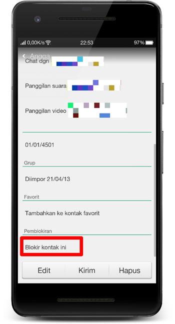Cara Memblokir Panggilan Dan Pesan Teks (sms) Di Android 4