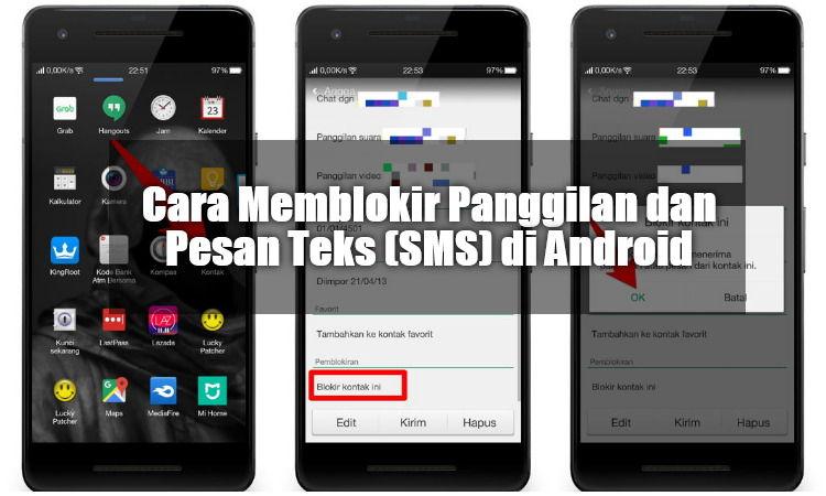 Cara Memblokir Panggilan Dan Pesan Teks (sms) Di Android