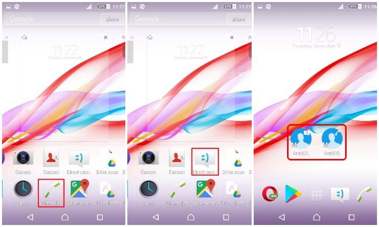 Cara Membuat Shortcut Untuk Fast Dial Atau Direct Message Di Android 10