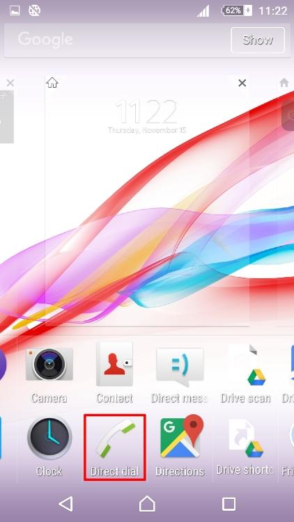 Cara Membuat Shortcut Untuk Fast Dial Atau Direct Message Di Android 3