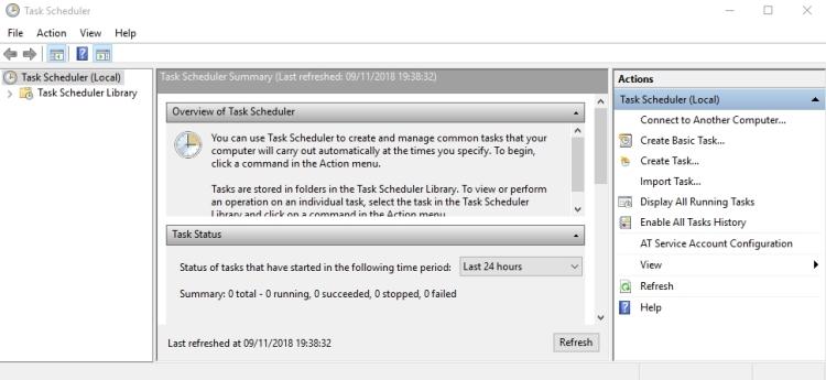 Cara Membuka Task Scheduler Di Windows 10 12