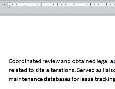 Cara Menggunakan Indent Dan Tabs Di Microsoft Word 2010 1
