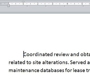 Cara Menggunakan Indent Dan Tabs Di Microsoft Word 2010 2