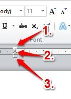 Cara Menggunakan Indent Dan Tabs Di Microsoft Word 2010 4