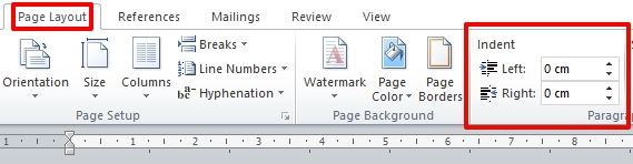 Cara Menggunakan Indent Dan Tabs Di Microsoft Word 2010 6