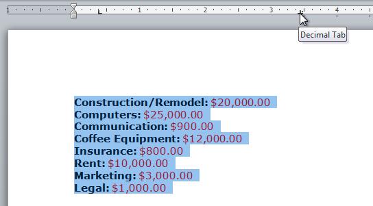 Cara Menggunakan Indent Dan Tabs Di Microsoft Word 2010 9