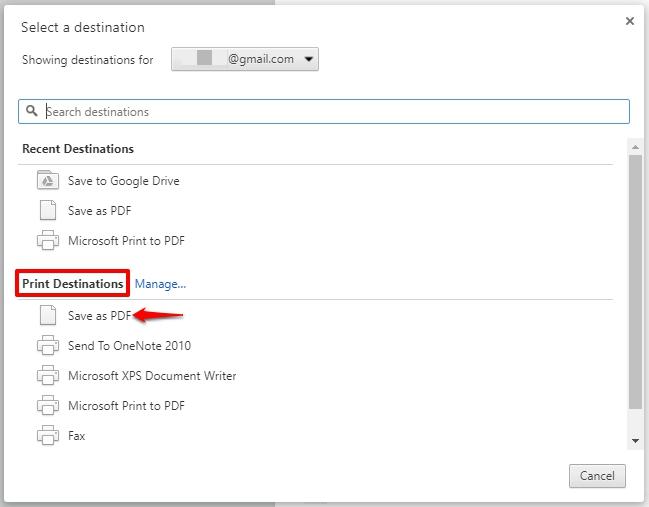 Cara Simpan Halaman Web Sebagai File Pdf Di Android Dan Windows 9