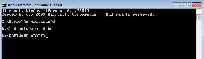 Cara Tampilkan Dan Sembunyikan Folder Dengan Command Prompt 23