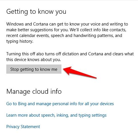 Cara Membersihkan Riwayat Pencarian Cortana Windows 10 2
