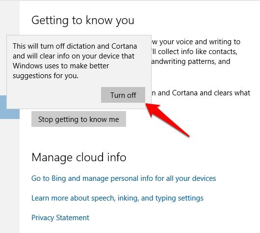 Cara Membersihkan Riwayat Pencarian Cortana Windows 10 3