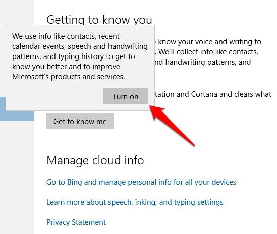 Cara Membersihkan Riwayat Pencarian Cortana Windows 10 5
