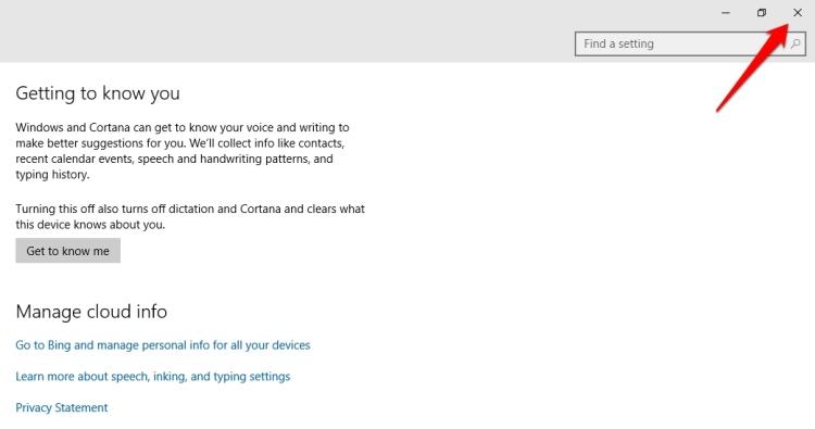 Cara Membersihkan Riwayat Pencarian Cortana Windows 10 6