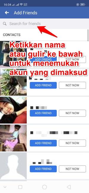 Cara Mencari Akun Facebook Seseorang Berdasarkan Nomor Telepon 5