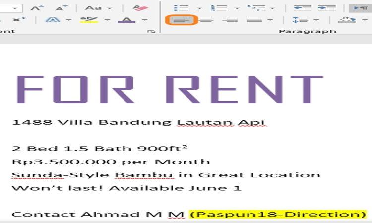 Cara Mengatur Dan Mendesain Teks Pada Microsoft Word 15