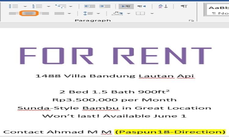 Cara Mengatur Dan Mendesain Teks Pada Microsoft Word 16