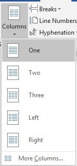 Dasar Penggunaan Breaks Di Microsoft Word 14