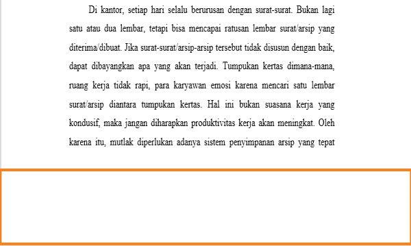Dasar Penggunaan Header Dan Footer Di Microsoft Word 4