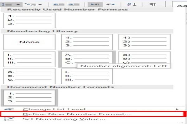 Dasar Dasar Pembuatan Dan Modifikasi List Di Microsoft Word 11