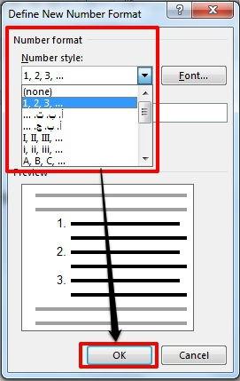 Dasar Dasar Pembuatan Dan Modifikasi List Di Microsoft Word 12