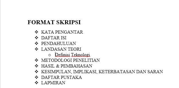 Dasar Dasar Pembuatan Dan Modifikasi List Di Microsoft Word 28