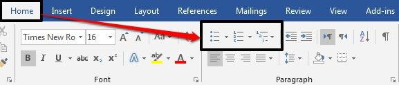 Dasar Dasar Pembuatan Dan Modifikasi List Di Microsoft Word 6