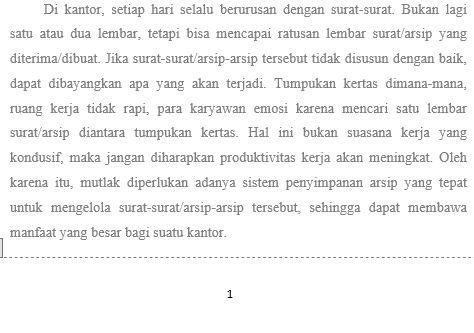 Panduan Penggunaan Page Number Di Microsoft Word 3