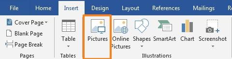 Perpaduan Penggunaan Picture Dan Text Wrapping Di Microsoft Word 2
