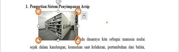 Perpaduan Penggunaan Picture Dan Text Wrapping Di Microsoft Word 5
