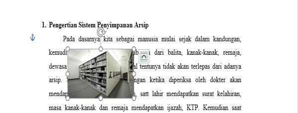 Perpaduan Penggunaan Picture Dan Text Wrapping Di Microsoft Word 8