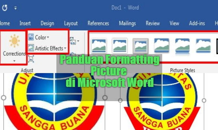 Panduan Formatting Picture Di Microsoft Word 0