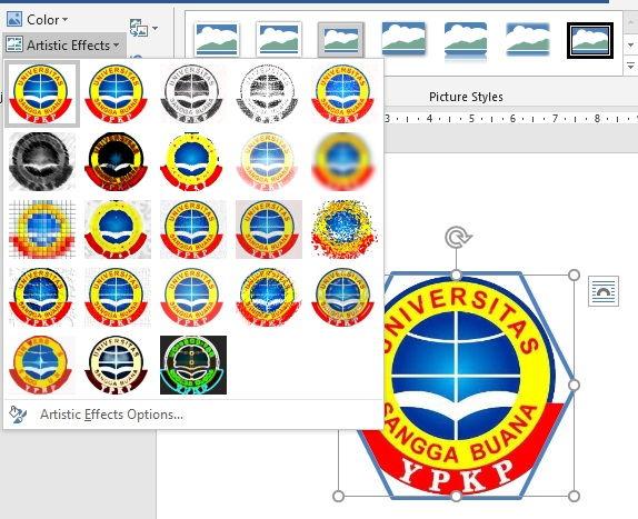 Panduan Formatting Picture Di Microsoft Word 10