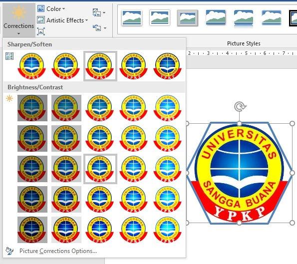 Panduan Formatting Picture Di Microsoft Word 8