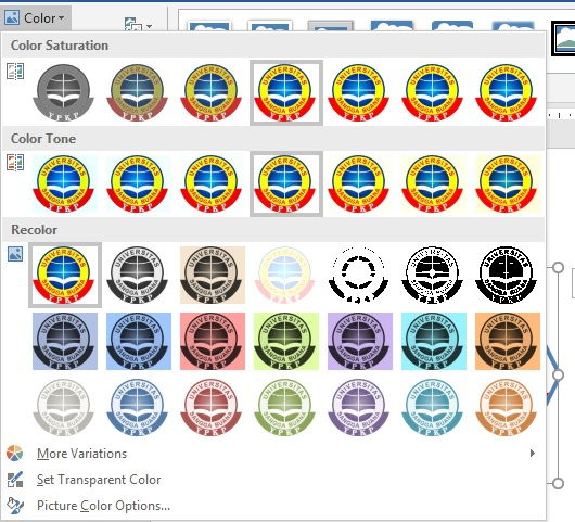 Panduan Formatting Picture Di Microsoft Word 9