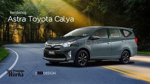 Spesifikasi Toyota Calya 1