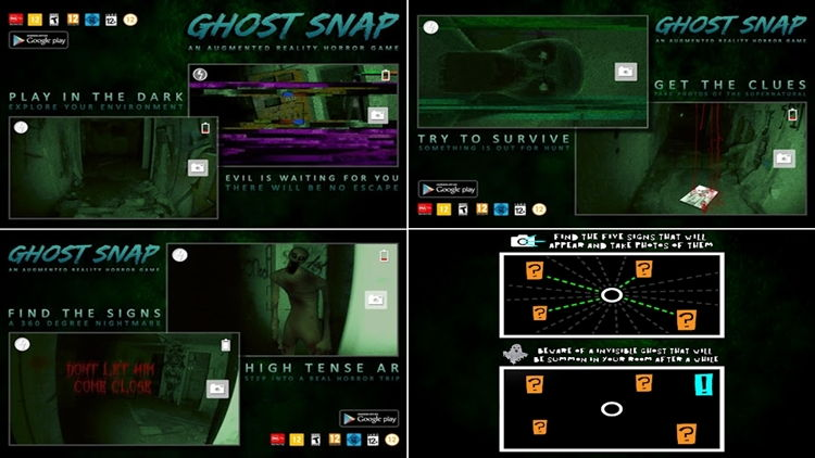 Top 9 Trendy Apps Of 2019 Ghost Snap Ar Horror Survival