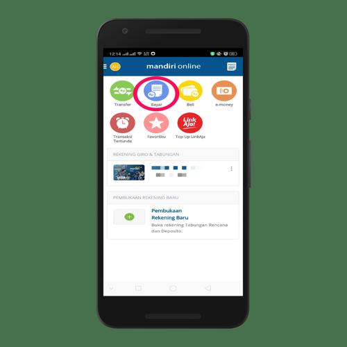 Cara Bayar Tagihan Listrik Pln Lewat Aplikasi Mandiri Online 2