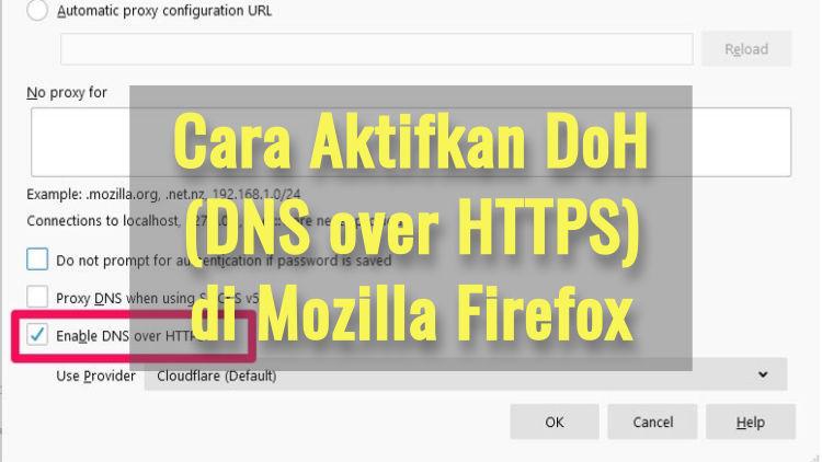 Cara Aktifkan Dns Over Https Di Mozilla Firefox